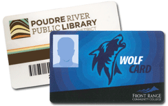 Wolf Card IS your Library Card!